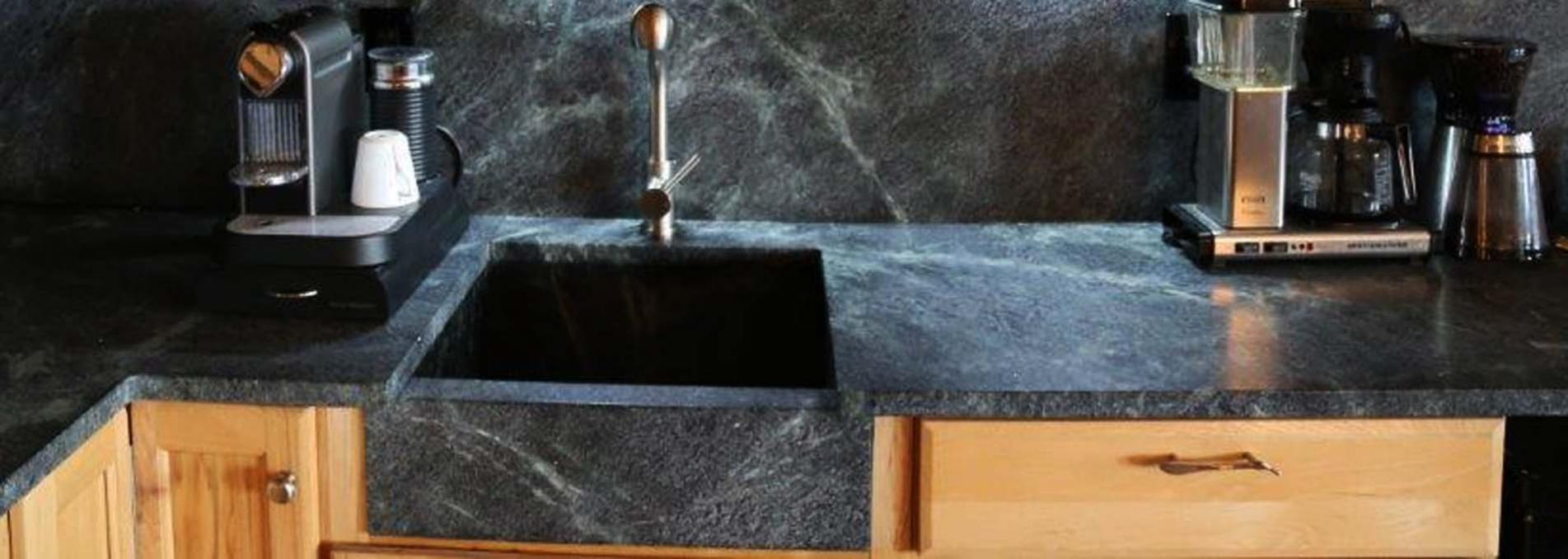 Natural Soapstone Work Surfaces