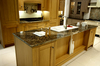 This unique Classico granite gives this kitchen a sheer touch of class and elegance.