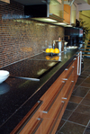 Starlite Black  kitchen worktop