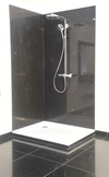 Starlite Black Shower Panels