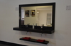 Starlite Black Floating Vanity