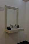 Starlite White floating Vanity