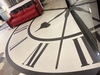 Waterjet Clock Design